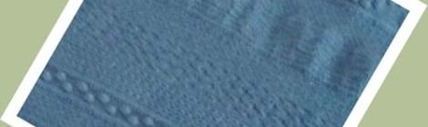Modèle de plaid au crochet